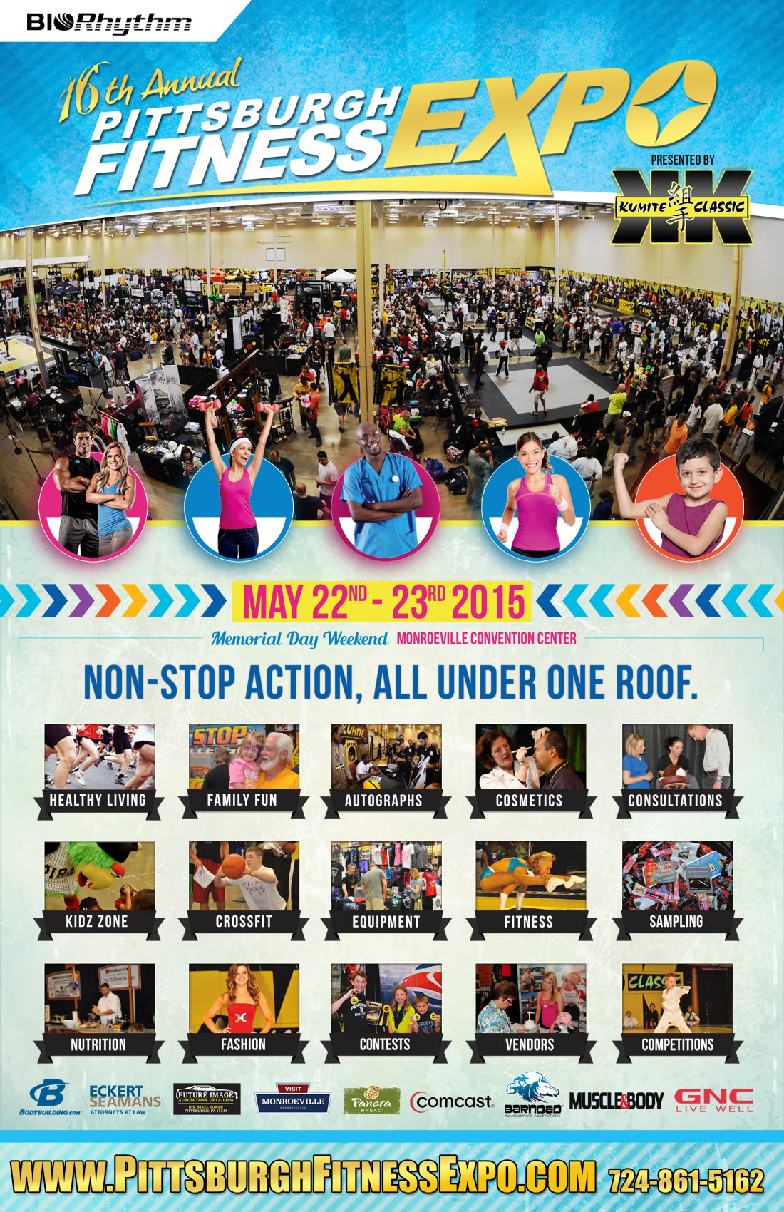 2015 pittsburgh fitness expo